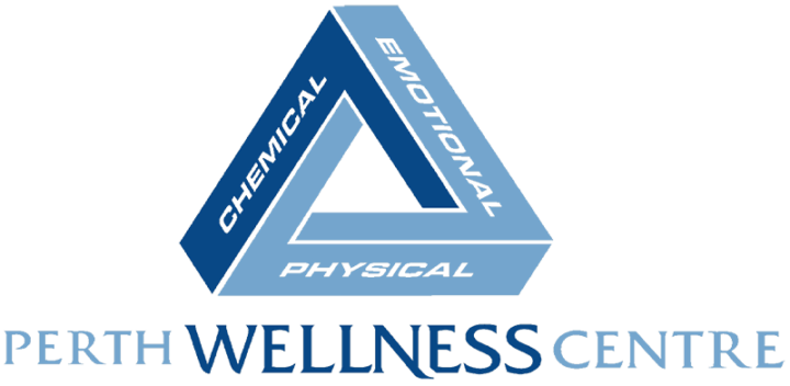 Perth Wellness Centre - Chiropractor - Physiotherapy - Occupational Therapy - Massage Therapy - Corporate Health - Psychology - Counseling - Logo Full